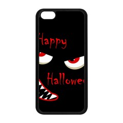 Happy Halloween   Red Eyes Monster Apple Iphone 5c Seamless Case (black) by Valentinaart
