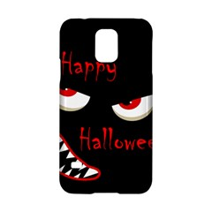 Happy Halloween   Red Eyes Monster Samsung Galaxy S5 Hardshell Case  by Valentinaart