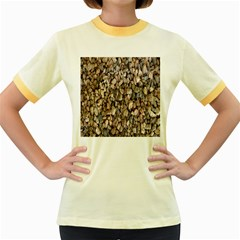 Nitter Stone Women s Fitted Ringer T-Shirts by AnjaniArt