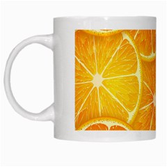 Orange Copy White Mugs