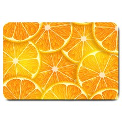 Orange Copy Large Doormat  by AnjaniArt