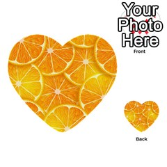Orange Copy Multi Purpose Cards (heart)  by AnjaniArt