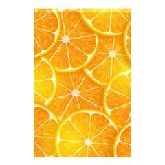 Orange Copy Shower Curtain 48  x 72  (Small)  by AnjaniArt