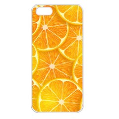 Orange Copy Apple Iphone 5 Seamless Case (white) by AnjaniArt