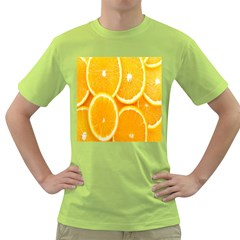 Orange Fruit Green T Shirt