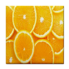 Orange Fruit Face Towel by AnjaniArt