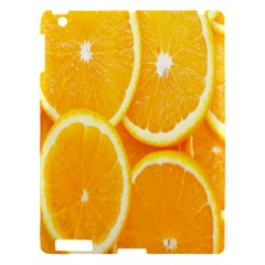 Orange Fruit Apple Ipad 3/4 Hardshell Case by AnjaniArt
