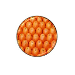 Orange Fruits Hat Clip Ball Marker (10 Pack) by AnjaniArt