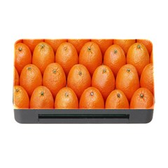 Orange Fruits Memory Card Reader with CF by AnjaniArt