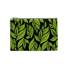 Palm Coconut Tree Cosmetic Bag (medium)  by AnjaniArt