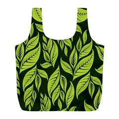 Palm Coconut Tree Full Print Recycle Bags (l)  by AnjaniArt