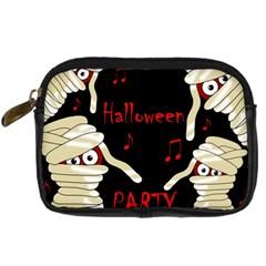 Halloween Mummy Party Digital Camera Cases by Valentinaart