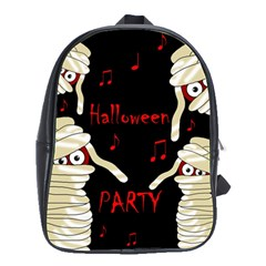 Halloween Mummy Party School Bags(large)  by Valentinaart