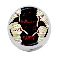 Halloween Mummy Party 4 Port Usb Hub (two Sides)  by Valentinaart