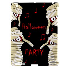 Halloween Mummy Party Apple Ipad 3/4 Hardshell Case (compatible With Smart Cover) by Valentinaart