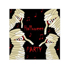 Halloween Mummy Party Small Satin Scarf (square) by Valentinaart