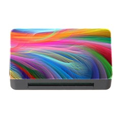 Rainbow Feather Memory Card Reader with CF by TailWags