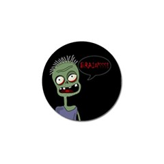 Halloween Zombie Golf Ball Marker (4 Pack) by Valentinaart