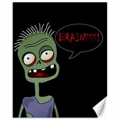 Halloween Zombie Canvas 16  X 20   by Valentinaart