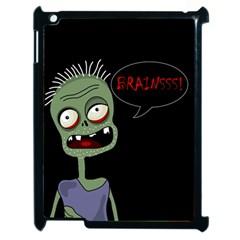 Halloween Zombie Apple Ipad 2 Case (black) by Valentinaart