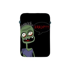 Halloween Zombie Apple Ipad Mini Protective Soft Cases by Valentinaart
