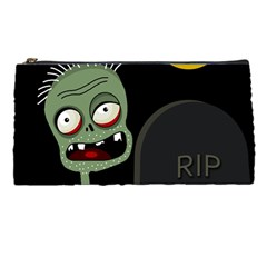 Halloween Zombie On The Cemetery Pencil Cases by Valentinaart