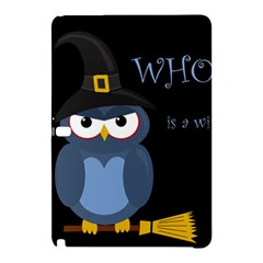 Halloween Witch   Blue Owl Samsung Galaxy Tab Pro 12 2 Hardshell Case by Valentinaart