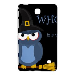 Halloween Witch   Blue Owl Samsung Galaxy Tab 4 (7 ) Hardshell Case  by Valentinaart
