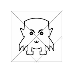 Petit Vampire Cartoon Illustration Acrylic Tangram Puzzle (4  X 4 ) by dflcprints