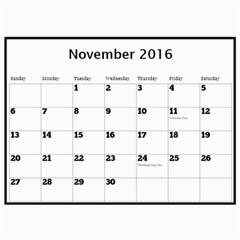 Janet Wall Calendar 11x8 5 2016 By Deborah   Wall Calendar 11  X 8 5  (12 Months)   O4x9wridubtq   Www Artscow Com Nov 2016