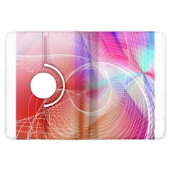 Background Nebulous Fog Rings Kindle Fire HDX Flip 360 Case by Zeze