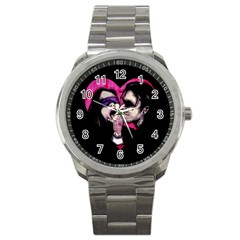 I Know What You Want Sport Metal Watch by lvbart