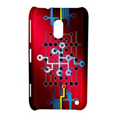 Board Circuits Trace Control Center Nokia Lumia 620 by Zeze