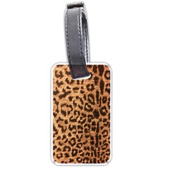 Leopard Print Animal Print Backdrop Luggage Tags (One Side)  by Zeze