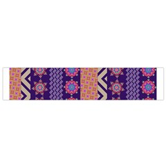 Colorful Winter Pattern Flano Scarf (small) by DanaeStudio