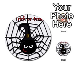 Halloween Cute Spider Multi Purpose Cards (round)  by Valentinaart