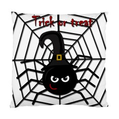 Halloween Cute Spider Standard Cushion Case (one Side) by Valentinaart