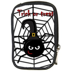 Halloween Cute Spider Compact Camera Cases by Valentinaart