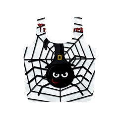 Halloween Cute Spider Full Print Recycle Bags (s)  by Valentinaart