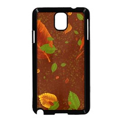 Autumn 01 Samsung Galaxy Note 3 Neo Hardshell Case (black) by MoreColorsinLife