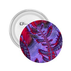 Freaky Friday Red  Lilac 2 25  Buttons by Fractalworld