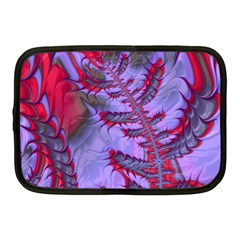 Freaky Friday Red  Lilac Netbook Case (medium)  by Fractalworld