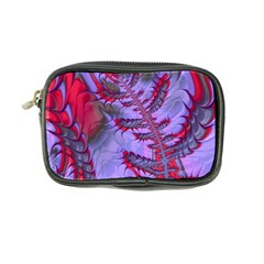 Freaky Friday Red  Lilac Coin Purse by Fractalworld