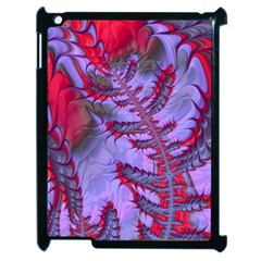 Freaky Friday Red  Lilac Apple Ipad 2 Case (black) by Fractalworld