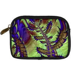 Freaky Friday, Blue Green Digital Camera Cases by Fractalworld