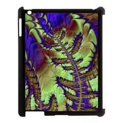 Freaky Friday, Blue Green Apple Ipad 3/4 Case (black) by Fractalworld