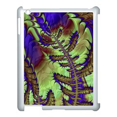 Freaky Friday, Blue Green Apple Ipad 3/4 Case (white) by Fractalworld