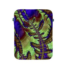 Freaky Friday, Blue Green Apple Ipad 2/3/4 Protective Soft Cases by Fractalworld