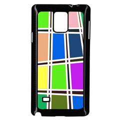 Abstract Samsung Galaxy Note 4 Case (Black) by Zeze