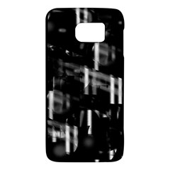 Black And White Neon City Galaxy S6 by Valentinaart